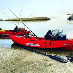 Beautiful post from Bahrain @yaradasports  #Malibukayaks #kayakfishing #bahrain #malibukayak # fishing#fishingkayak #fishingislife #kayak #kayaks #kayaking #kayakingadventures