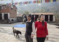 """Mandeera knows all about me. She is my best friend.  I tell her everything"""" (Handicap International UK) Tags: nepal earthquake uma kathmandu survivors disability silwal"""