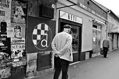 v (brendagiannello) Tags: blackandwhite stilllife architecture croatia zagreb oldwomen inlove flickrlove urbanlife lanscapes urbanstreet urbanstyle