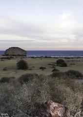 Piedra de Marte en el Cabo de Gata (jlpezrecio) Tags: sunset beach andaluca spain sunsets playa almera cabodegata