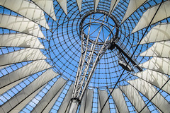 Roof Sony-Center Potsdamer Platz Berlin (Elbmaedchen) Tags: roof berlin curves potsdamerplatz sonycenter architektur zeltdach