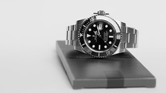 Rolex Submariner Date (milgaussgv) Tags: bw blackwhite divers sweet chocolate steel daily professional valrhona precision perpetual cacoa
