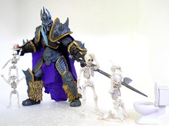Executive privilege (Homicide_Crabs) Tags: world wow king warcraft undead skeletons rement lich arthas