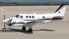 D-IDCV (equief) Tags: king erfurt aviation air erf flughafen beechcraft beech dix edde c90b erfurtweimar flughafenerfurtweimar