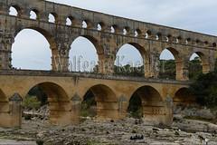 40080140 (wolfgangkaehler) Tags: bridge france water french europe european roman bridges unescoworldheritagesite aqueduct nimes pontdugard aqueducts southernfrance 2016 1stcenturyad gardonriver garddepartment