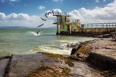 jump (Sigita JP) Tags: galway jump action westcoast galwaycity divingplatform westofireland