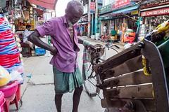 H504_3197 (bandashing) Tags: street old england people man manchester pull shops push cart rickshaw sylhet bangladesh socialdocumentary aoa bandashing akhtarowaisahmed
