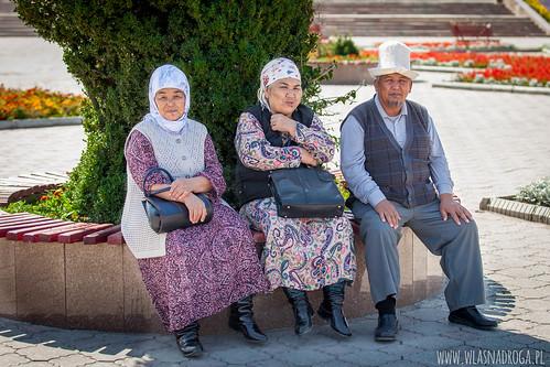 Odpoczynek w centrum Biszkeku