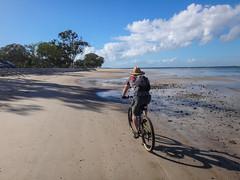 Buckleys Hole (Neil Ennis) Tags: beach cycling mtb bribie bongaree buckleyshole