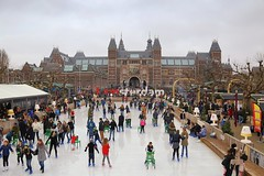 Holiday season in Amsterdam (B℮n) Tags: city travel blue winter holiday cold holland ice hockey netherlands amsterdam weather museum kids pancakes season children square fun happy soup museumplein chair iamsterdam legs body iceskating air skating center newyear canals entertainment busy national enjoy skate mind rink quarter anton puck wonderland topf100 mokum rijksmuseum stretching ijsbaan pleasure 020 delightful crowded refresh koek 100faves pieck i zopie httpwwwiceamsterdamnl