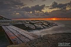 Sunrise on the cliff (danilodld) Tags: nuvole mare sole rocce imperia scogliere cervo 100comments lungheesposizioni borghipiùbelliditalia albasole serialnumber6243405 2015copyrightdanilodelorenzisdld ampievedutepanoramiche