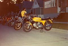 Ducati (NESR 1978) Tags: vintage italian motorcycles manitoba harley harleydavidson motorcycle ducati nesr ducati860 nesr1978 ducatigt860 1982harleydavidsonsturgis