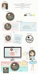 Ana Carolina Pelogia (Solangedanielle) Tags: visual logotipo facebook carimbo identidade mascotes empreendedores criativos artedocartodevisita