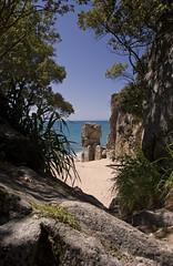 Abel Tasman [EXPLORED] (wirsindfrei) Tags: newzealand landscape nationalpark nikon paradise abel tasman abeltasman neuseeland d60 explored