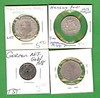 GERMANY ~ 4 OLD NOTGELD COINS ~ ITEM # 167 (*u*) (trevormccallin) Tags: germany coins item notgeld