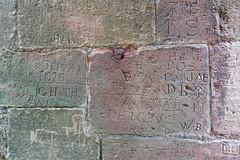 Names, Crichton Castle (wwshack) Tags: lothians historicscotland crichtoncastle