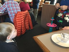 "Paul Gets a Balloon Dog at Egg Harbor • <a style=""font-size:0.8em;"" href=""http://www.flickr.com/photos/109120354@N07/24196643504/"" target=""_blank"">View on Flickr</a>"