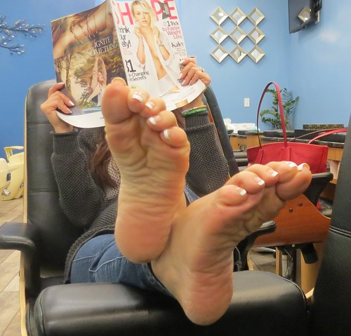Asian foot fetish