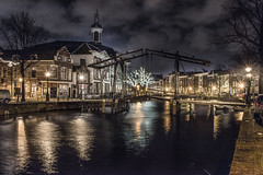 Schiedam by night (Jan Sluijter) Tags: holland gracht schiedam visitholland langehaven