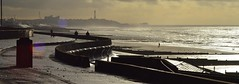 View Of Blackpool | From Rossall Field, Fleetwood | Landscape | Colours (Pendlelives) Tags: sea irish tower beautiful clouds colours bright background horizon dull defences fleetwood fylde blakpool