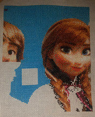 Blue Patches and Fuller Faced (diedintragedy) Tags: anna art frozen crossstitch embroidery sewing disney stitches elsa artsandcraft kristoff bluestiches crossstitchproject disneycrossstitch detailedcrossstitch