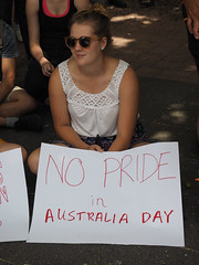 Invasion Day march and rally 2016-1260091.jpg (Leo in Canberra) Tags: march rally protest australia canberra australiaday act indigenous invasionday garemaplace 26january2016 aboriginalandtorresstraightislanders lestweforgetthefrontierwars endtheusalliance closepinegap
