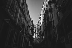 (kelvinels) Tags: china street bw 28mm streetphotography snap macau 18mm xpro1