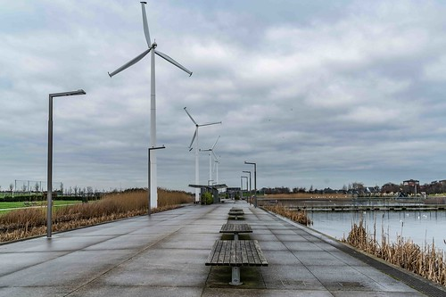 Wind Powered Public Park In Clongriffin Dublin [Father Collins Park]-110927