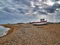 Dungeness (padraic collins) Tags: uk boat kent dungeness englishchannel theshinglehouse