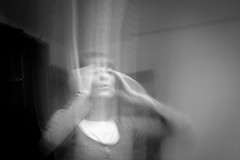 Mind traveling (chinasky1975) Tags: woman blur girl strange weird mujer chica fake astral blured movido falso apparitions astralprojection apariciones viajeastral