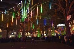 Lumiere London 2016 (Dave-B2012) Tags: uk london art westminsterabbey lights illuminations event oxfordstreet crowds lumierefestival lumierelondon nikond7200 lumiereldn