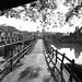 Pedestrian bridge over Balu Chaung River - Loikaw