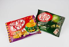 Japanese KitKat (TOKYO TAG TEAM) Tags: green pumpkin japanese kat candy tea mocha kit wasabi kitkat キットカット