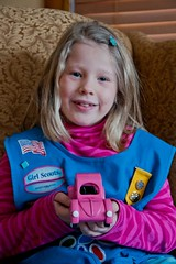 Pink Vintage Bug (pasa~tiempo) Tags: cars girl cub puff boyscouts powder scouts girlscouts pinkbug derby volkswagon pinewood cubscouts pinewoodderby volkswagonbug powderpuff derbycar powderpuffderby vintagebug derbycars