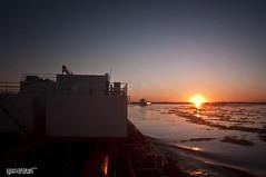 River transit @ Campana, Argentina (Rhannel Alaba) Tags: sunset argentina sunrise nikon san ship terminal campana lorenzo d90 pido alaba odfjell rhannel