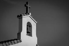 Campanario (Oscar F. Hevia) Tags: blackandwhite espaa blancoynegro spain cross bell gijn chapel asturias belltower campana cruz symbols hermitage campanario ermita simbolos capilla asturies xixn laprovidencia principadodeasturias