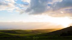 Quiet Climbs (RP Frame) Tags: sardegna blue light sunset orange sunlight verde green nature clouds landscape tramonto nuvole sardinia quiet peace blu natura hills pace luce paesaggio guardia arancione climbs tranquillit vedetta lucesolare seuni sucuccurudesaguardia cuccurudesaguarda
