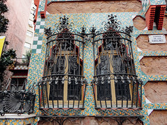 Casa Vicens (--v) Tags: barcelona architecture ceramic spain mosaic catalonia gaudi catalunya gracia modernist modernisme catalonian trencadís trencadis grácia