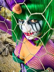 The Joker (Daniel Hall - AUS) Tags: female costume cosplay makeup joker clowns iphone