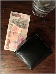 I must be more careful with my money! (The Stig 2009) Tags: money fun one o wallet rich tony cash note million 2009 pound stig clumsy pounds iphone 2016 6s denomination thestig tonyo thestig2009