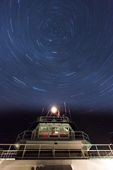 Star Trails! (Jason Pineau) Tags: sky ferry night dark stars island star boat long exposure ship bc britishcolumbia trails inlet astronomy ferries sunshinecoast jervis mv powellriver islandsky