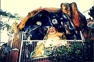 Laughing Buddha, Tiger Balm Garden, Wan Chai, Hong Kong Island, December 1995 (3)