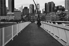 Grain is good, Victoria Bridge in Brisbane - Taken with a 1960's Vintage Camera - Ihagee Dresden EXA1a on Ilford XP2 Super 400 (On Instagram @Rachel_Joanne) Tags: camera slr film 35mm vintage photography dresden australia brisbane queensland grainisgood victoriabridge ihagee ilfordxp2super400 exa1a