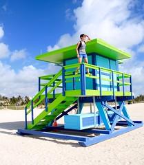South Beach - Miami Beach, Florida (--Eli--) Tags: trip travel rescue usa sun holiday beach colors america florida miami unitedstatesofamerica guard miamibeach ontheroad southbeach baywatch oceano sobe atlantico biscaynebay miamidade statiuniti salvataggio bagnini straitsofflorida stateofsunshine