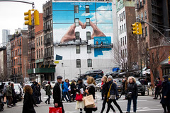 KLM (Colossal Media) Tags: nyc travel blue tourism dutch advertising media outdoor manhattan soho royal ooh handpaint klm airlines colossal complete m130 outdooradvertising traveltourism skyhighmurals alwayshandpaint kristalindahl klmprogress