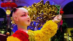 Bellagio_Chinese New Year-3 (Swallia23) Tags: las vegas flowers money hotel peach chinesenewyear casio nv bellagio yearofthemonkey 2016 conservatorybotanicalgarden