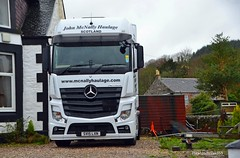 John McNally Haulage (Zak355) Tags: truck mercedes scotland transport scottish lorry bute rothesay isleofbute actros johnmcnallyhaulage sv15lxn
