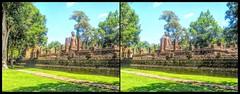 hdr- Si Sitchanalai, Thailand (Bruno Zaffoni) Tags: thailand buddha si tailandia buddhism archeology thailande satchanalai sichanalai