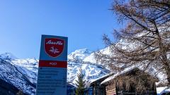 Wegweiser (travelmemo.com) Tags: schweiz wallis ch wegweiser saasfee allalin httpreisememochp13580