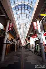 Gondo Street (seantaylorphotography) Tags: street roof glass japan canon shopping japanese antique traditional streetphotography 5d stores nagano 1740 gondo 5d2 5dmk2
